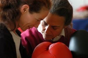 Laura en Renate 2005