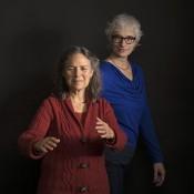 Laura Stone en Veronika Simonett