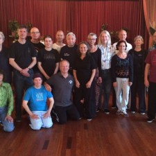Workshop Grootmeester William C. C. Chen in Deventer, september 2015.