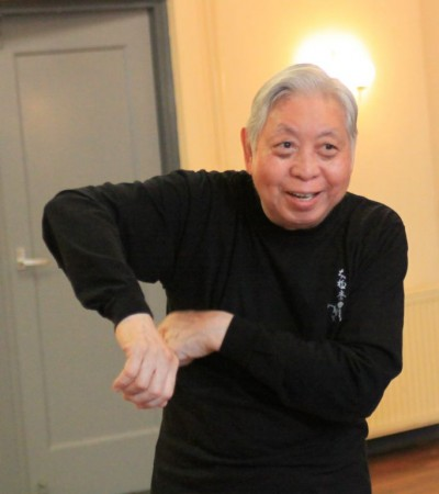 Workshop Grootmeester William C. C. Chen in Deventer, september 2015. Foto: Alwin Wubben