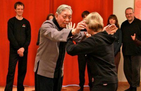 Met Grootmeester William C. C. Chen